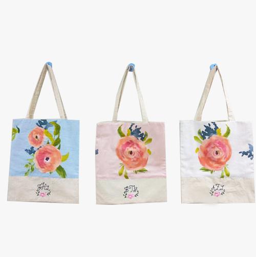 Monogrammed Tote Bags