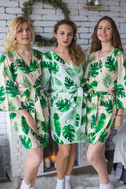 Rayon bridesmaids robes