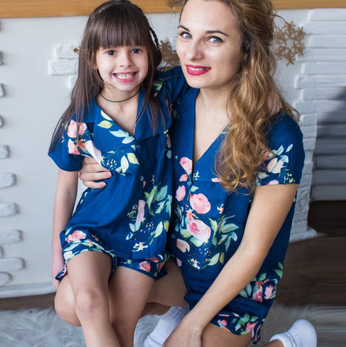 mommy baby matching pjs, mommy baby collection, mother and baby matching outfits