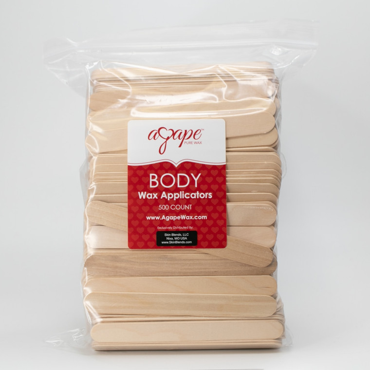 Body Wax Applicators 500ct