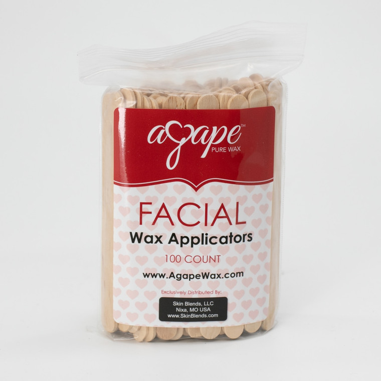 Face Wax Applicators 100ct