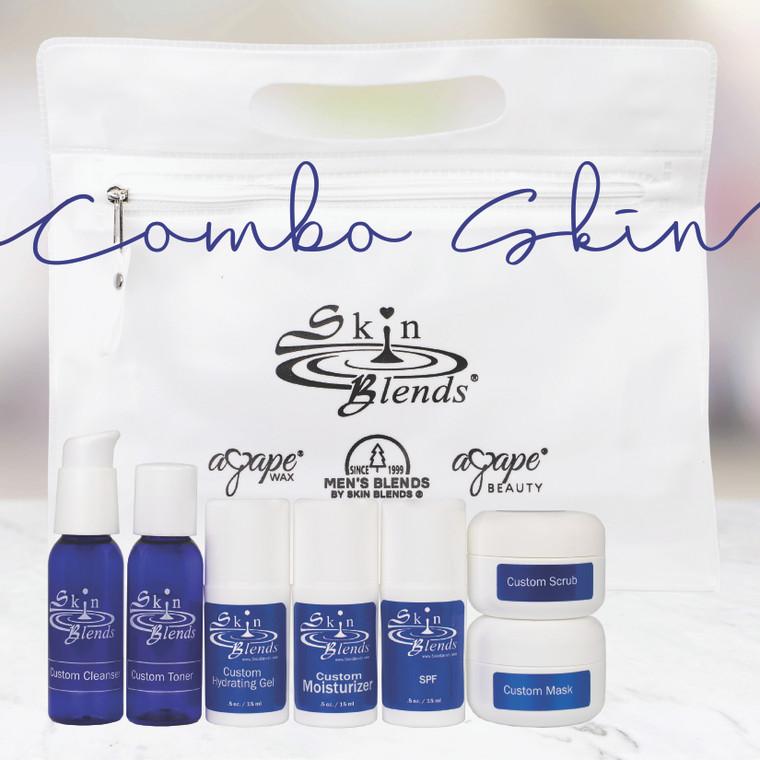 Essential Designer Line (Added Essential Oils & Natural Color) Combo Skin