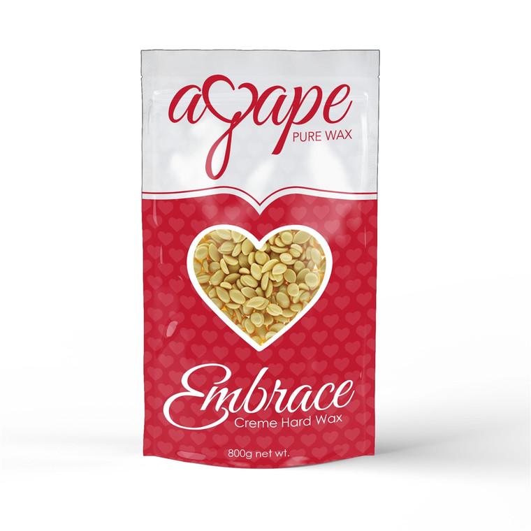Agape® Embrace - Creme Hard Wax (No Strip) 800g