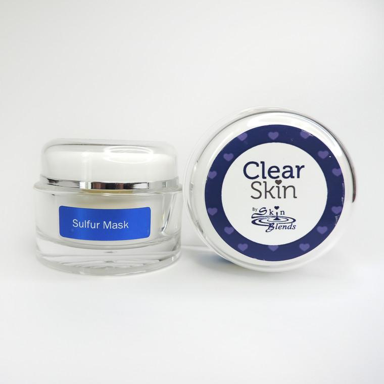 Clear Skin Healing Sulfur Mask 2oz.