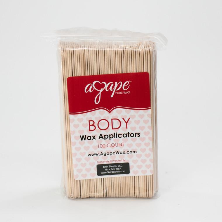 Body Wax Applicators 100ct