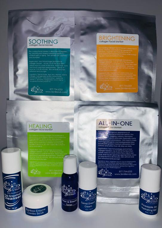 At Home Revitalizing Facial Kit 4 Treatments