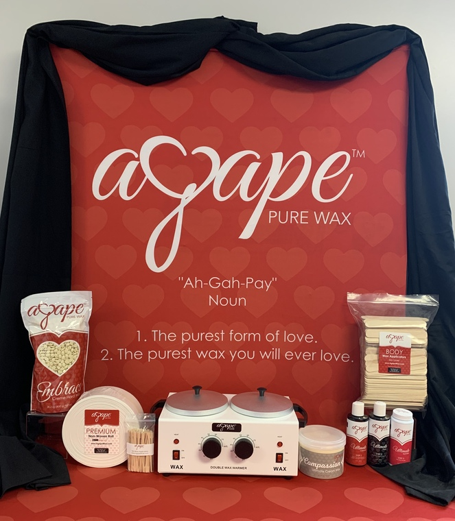 Agape Cream Wax Kit w/ Double Heater