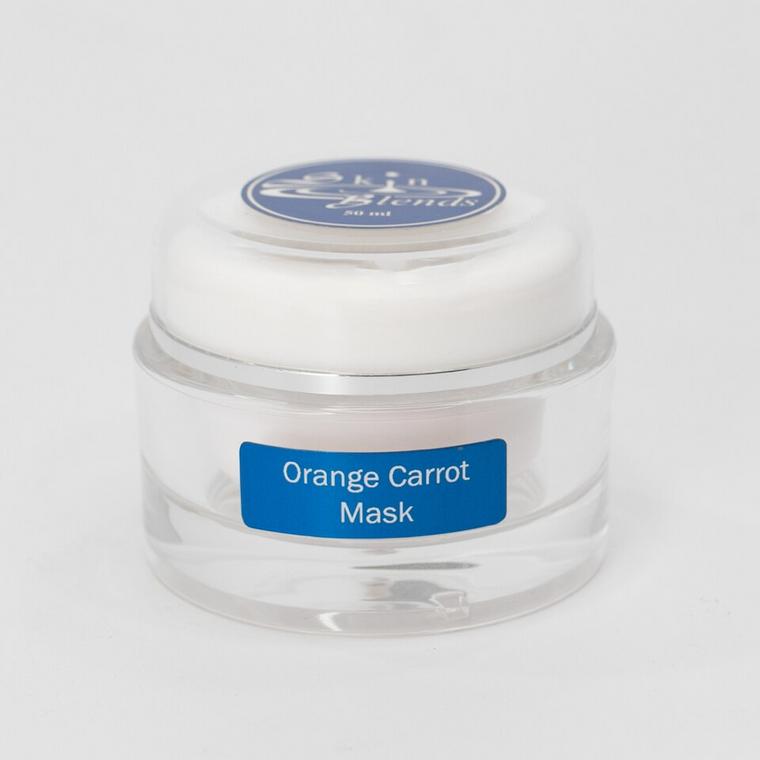 Orange Carrot Mask