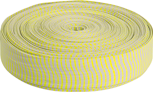 Omp Vibe Silencer White/Neon Yellow 85 Ft. Roll