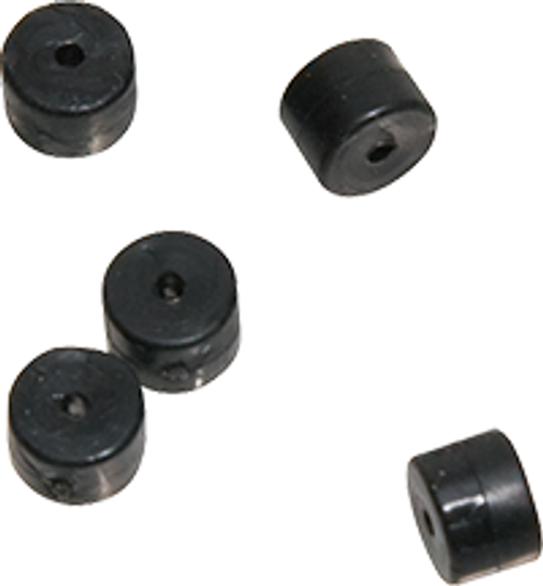 Omp Turbo Button 2.0 Black 100 Pack - 100 Pack