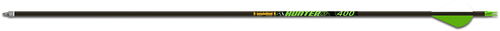 """Gold Tip Hunter Xt Arrows 400 2"""" Raptor Vanes With Inserts - 6 Pack"""