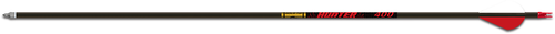 """Gold Tip Hunter Arrows 340 2"""" Raptor Vanes With Inserts - 6 Pack"""