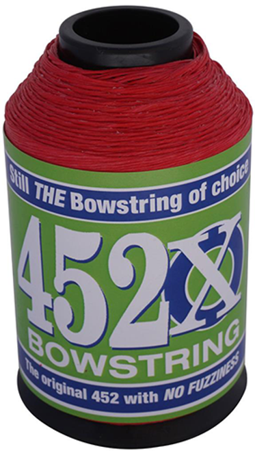 Bcy 452X String Material Red 1/4 Lb.