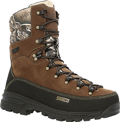 Rocky Mountain Stalker Pro Boot Brown R/T Excape 800 Grams 8