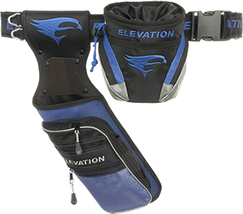 Omp Nerve Field Quiver Package Black/Blue Right Hand