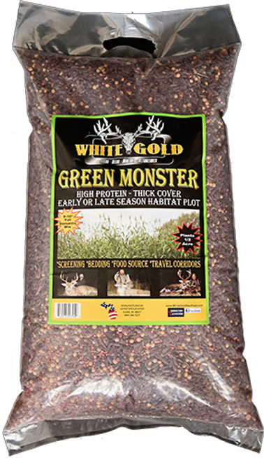 White Gold Green Monster Seed 25 Lbs.