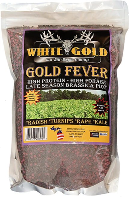 White Gold Fever Seed 4 Lbs.
