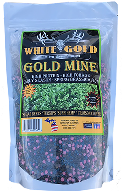 White Gold Gold Mine Seed 3.5 Lbs.