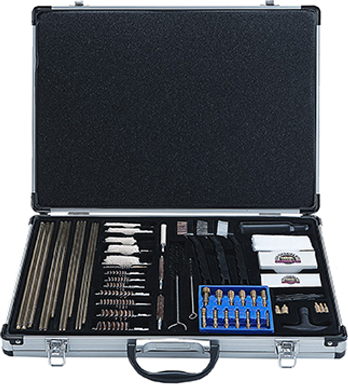 Gunmaster Super Deluxe Universal Cleaning Kit 61Pc