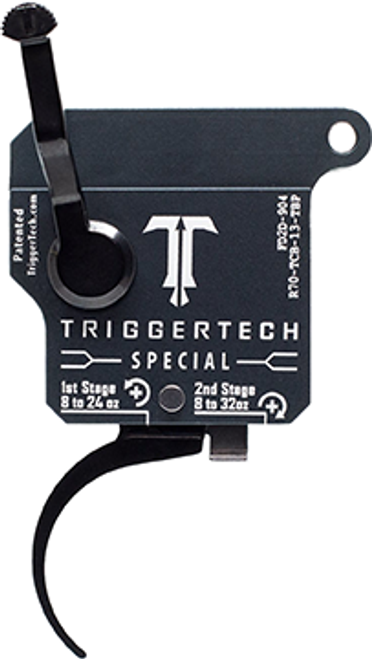 Trigger Tech Rem 700 Special 2 Stage Pvd Blk Straight Flat Rh