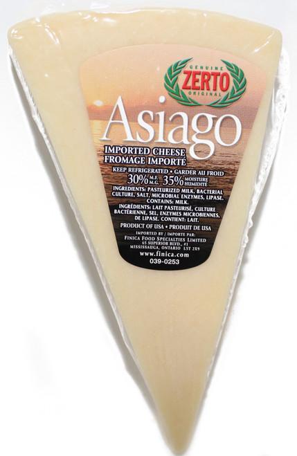 Zerto™  Asiago Cheese Wedge, 255g