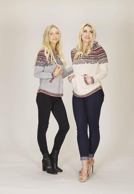 Sweater, Welsh-style pattern