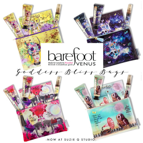 Barefoot Venus® Goddess Bag, Sampler Variety