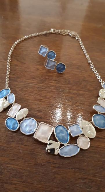 Necklace Set, Enamelled