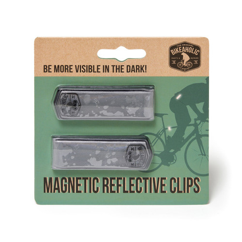Legami® Reflective Magnetic Bicycle Clips