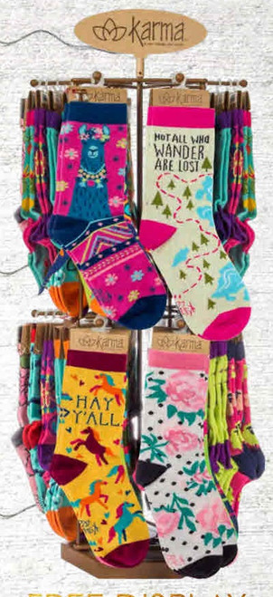 Karma® Women's Crew Socks
