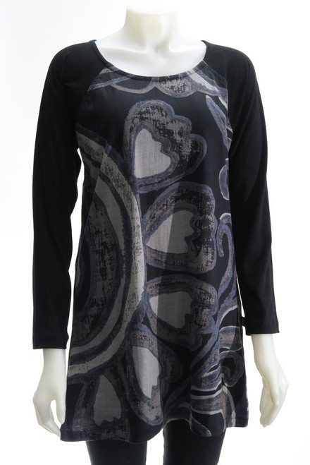 Leopards & Roses® Heart Tunic