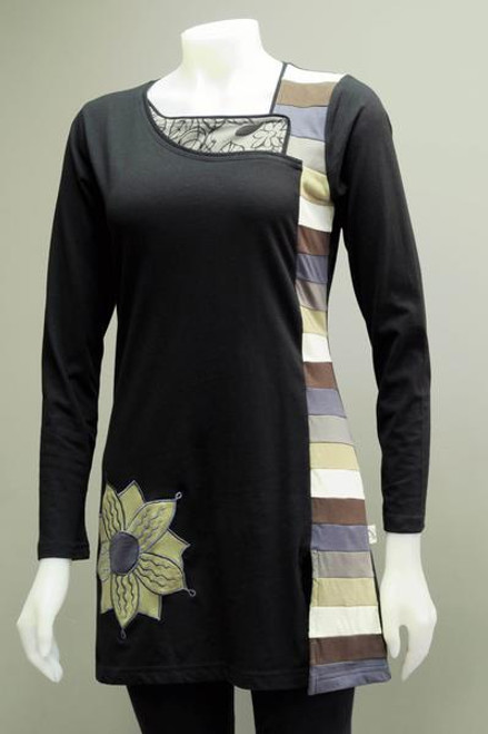 Leopards & Roses® Flower Tunic