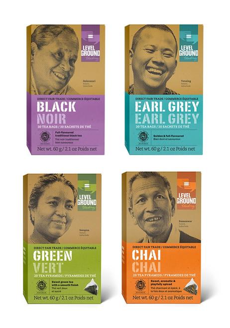 Level Ground®  Organic Tea