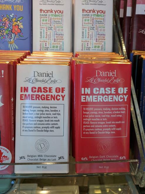 Chocolate Bar - 85g In Case of Emergency