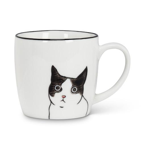 Abbott® Peering Cat Mug