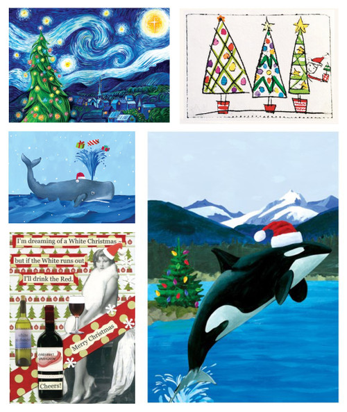 Paper E. Clips® Christmas Cards (Updating)