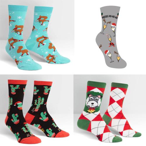 Sock It To Me® Women's Crew Christmas Socks