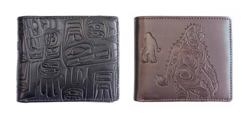 Native Northwest® Embossed Men's Wallet