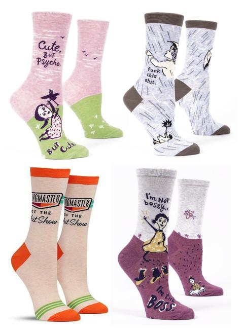 Blue Q® Women's Crew Socks