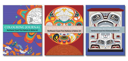 Native Northwest® Colouring Books