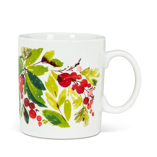 Abbott ® Cranberry and Greenery Mug