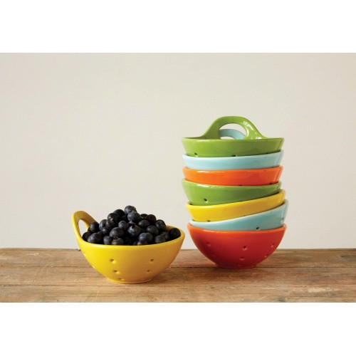 Creative Co-op®  Stoneware Berry Bowl