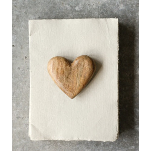 Creative Co-op ® Mango Wood Heart