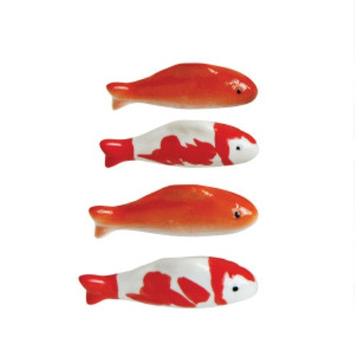 Creative Co-op ® Stoneware Floating Fish