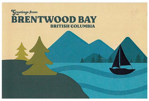 Vintage Style Pacific Northwest Postcards
