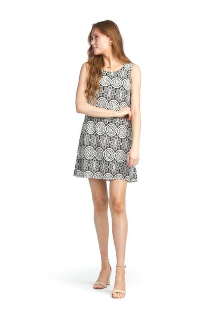 Papillon® Medallion Lace Shift Dress, PD-05684