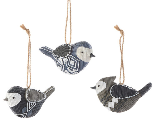 Knitted Bird Ornaments