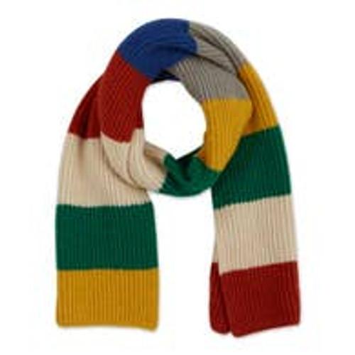 Oblong Scarf Bold Colour Stripes
