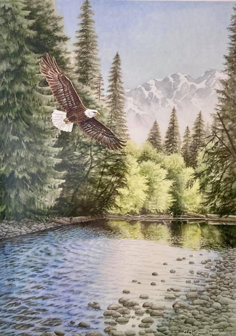 """River Turn"" by M. Morgan Warren"