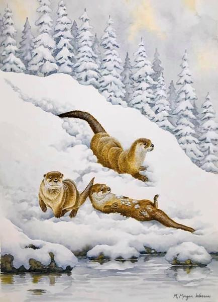 """""""Winter Joy"""" by M. Morgan Warren"""